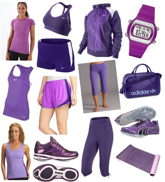 Purple Workout Clothing And Gear Popsugar Fitness