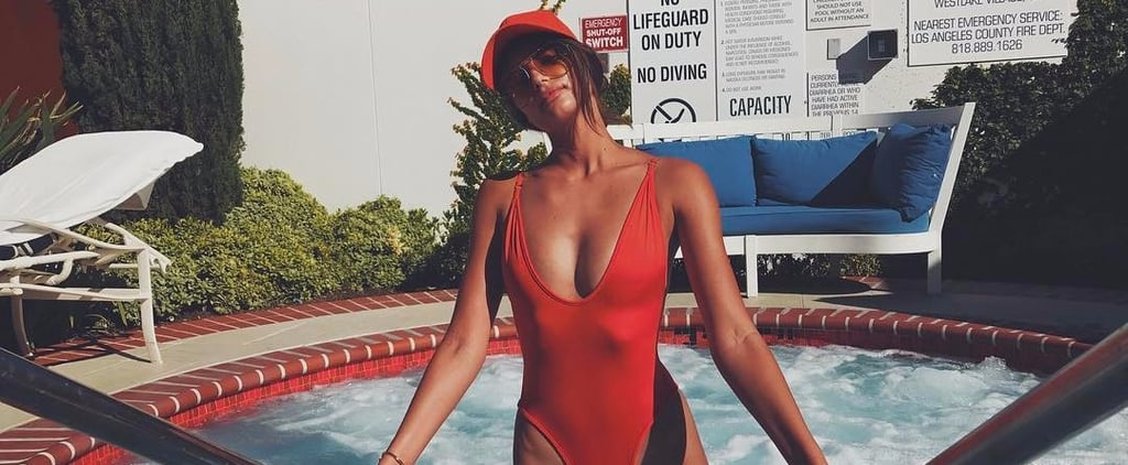 Celebrities Wearing 1-Piece Swimsuits and Swimwear