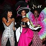 Yara Shahidi, Janelle Monáe, and Lupita Nyong'o — 2019