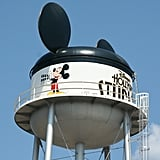 The water tower at Hollywood Studios is known as the Earffel Tower.