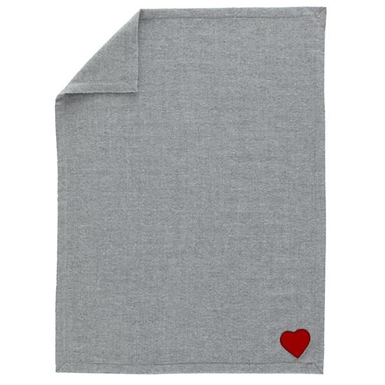 No pink, blue, or frills here. No-nonsense mommas can still show their love with The Land of Nod's understated Heartfelt Blanket ($69).