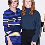 Julianne Moore and Kristen Stewart attended a speaker panel in NYC on Tuesday.