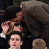 Olivier Sarkozy kissed Mary-Kate Olsen.