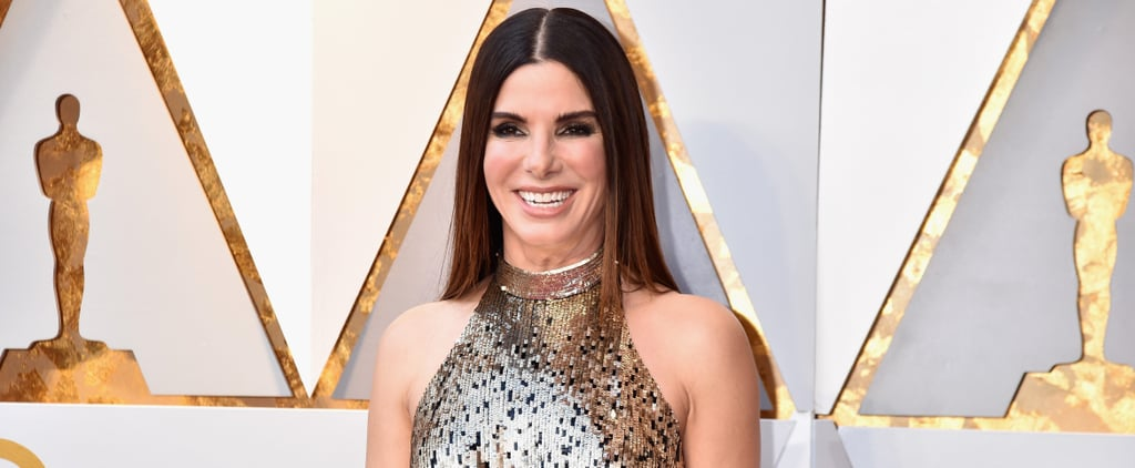 "Sandra Bullock Presented at the Oscars in the Dark So She Could ""Go Back to My 40s"""