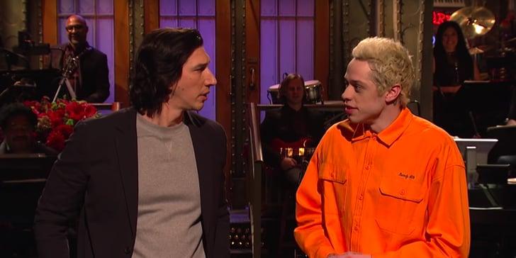 Adam Driver Golden Globes Skit on SNL 2016   Video ...