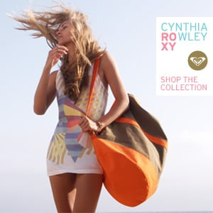 Win a Piece From ROXY's Cynthia Rowley Collection!