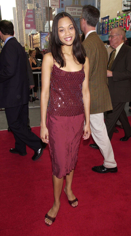 Zoe Saldana, 2000