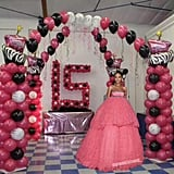 There were those who thought Rihanna was celebrating her quinceañera.