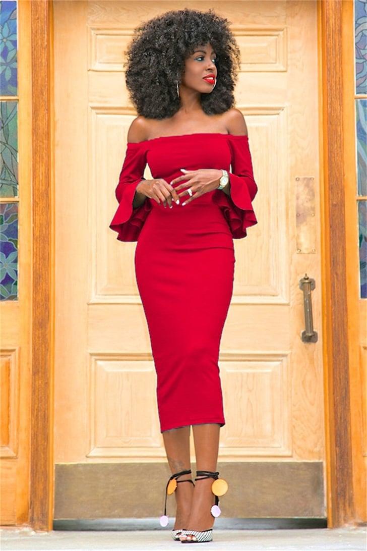 Corala Dress | Sexy Red Dresses on Amazon | POPSUGAR ... Red Dresses Om