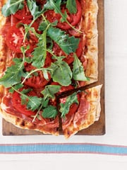 Fast & Easy Dinner: Grilled BLT Pizza