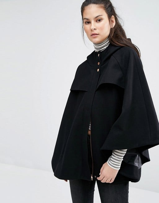 Only Wool Cape Coat ($121)