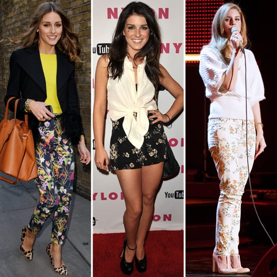 15 Celebs in Floral Bottoms — See How to Work the Trend For Day and Night
