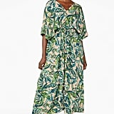 Monki Belted Kaftan Dress