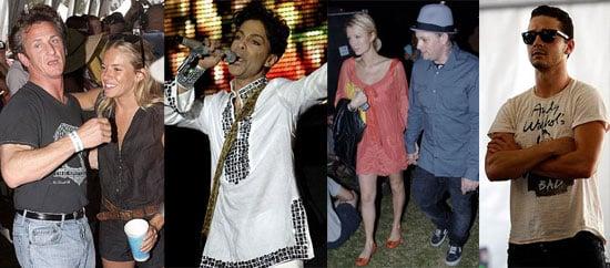 Celebrities Heat Up the Hot Hot Desert at Coachella