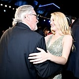 Robert De Niro and Dakota Fanning at the 2020 SAG Awards