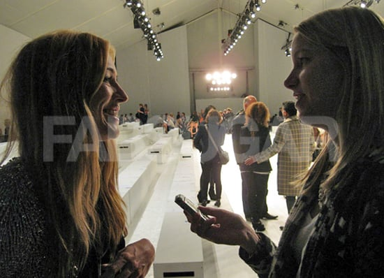 Exclusive Interview with Cat Deeley at Matthew Williamson Spring 2011 Show in London