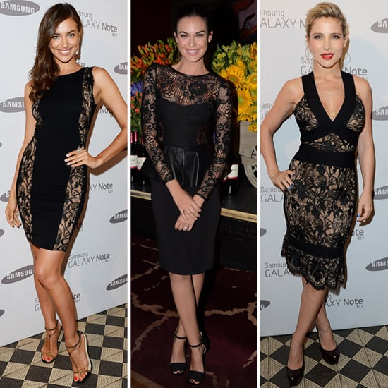 Black Lace Dresses Celebrity Pictures And Shopping