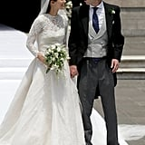 The Bride Chose a Stunning Gown by Jorge Vázquez