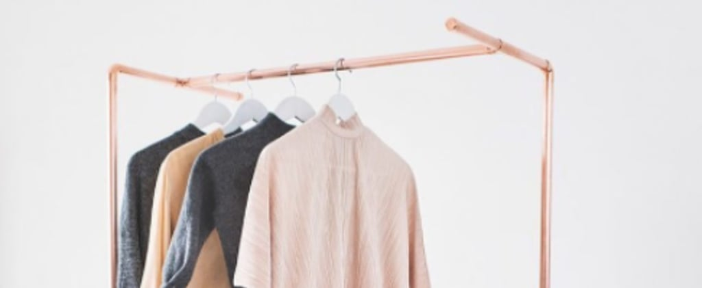 Clothing Rails Are the New Pretty Trend That Will Help You Get Organised