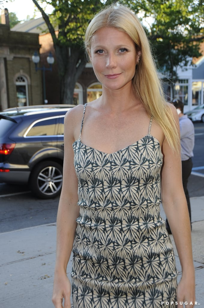 Gwyneth Paltrow attended the New York Film Critics Series screening of Hector and the Search for Happiness in NYC.