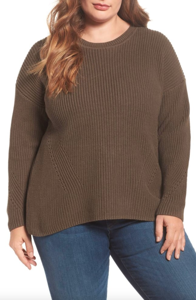 Lucky Brand Lace-Up Back Sweater ($40, originally $70)