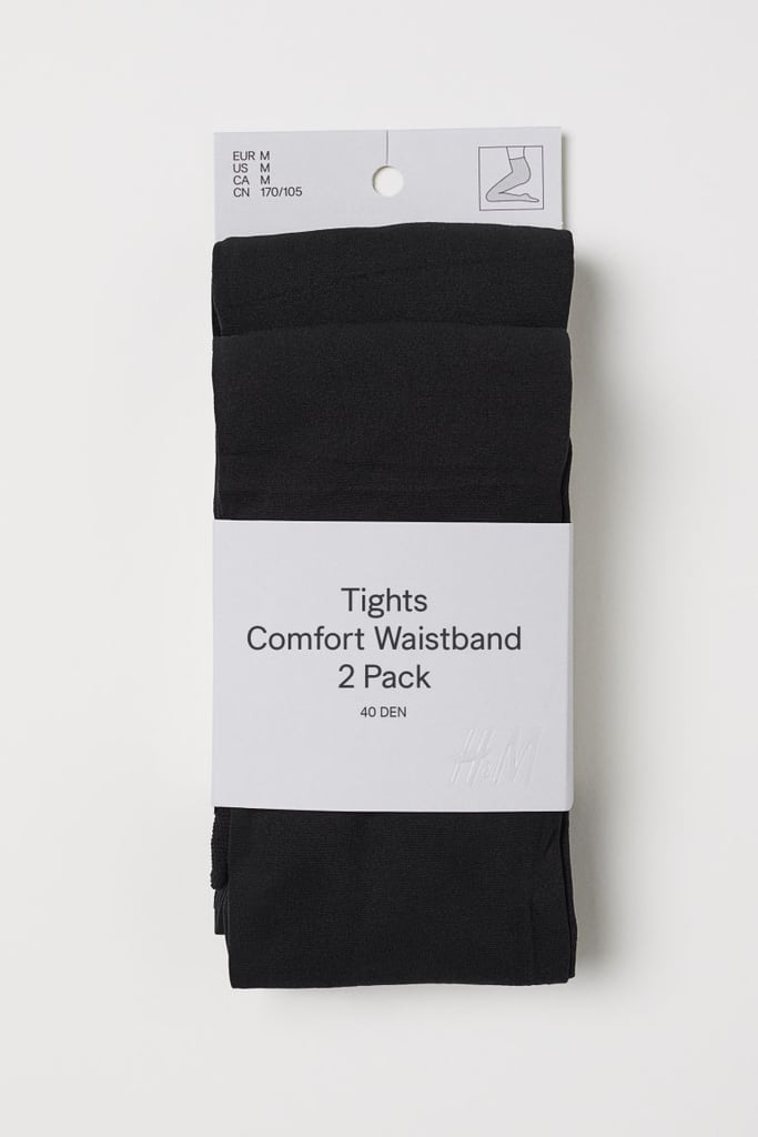H&M 2-Pack Comfort Waistband Tights
