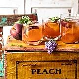 Balsamic Peach Spritz