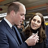 Prince William and Kate Middleton Visiting Birmingham 2017