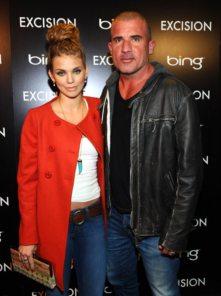 Dominic Purcell And Annalynne Mccord AnnaLynne McCord and D...