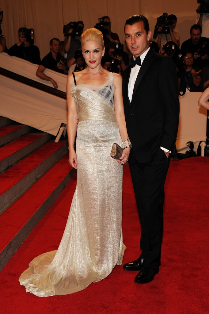Gwen and Gavin attended the Costume Institute Gala Benefit in May 2010 in NYC.