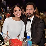 Pictured: Mandy Moore and Milo Ventimiglia