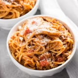 This Instant Pot Spaghetti Is Easier Than Frozen Pizza, and SO Much Tastier
