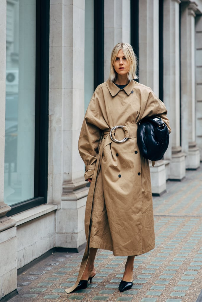 Image result for autumn 2019 street style trench