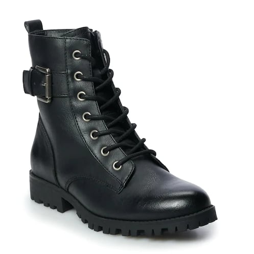 Broccoli Women's Combat Boots