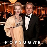 Cate Blanchett and Brad Pitt at the 2020 Golden Globes