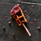 Chocolate Covered Cherry Waffle Sticks
