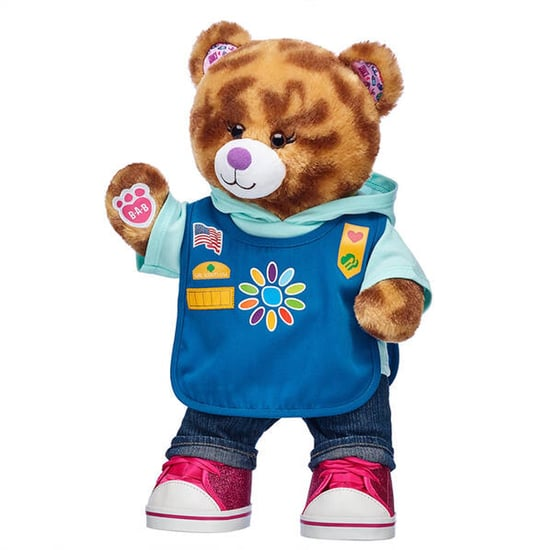 Girl Scout Cookies Thin Mint and Samoa Build-A-Bears