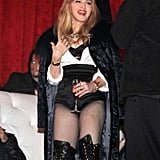 Madonna at dance audition in NYC.