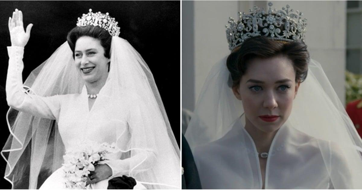 Princess Margarets Wedding >> Princess Margaret's Wedding on The Crown | POPSUGAR Entertainment