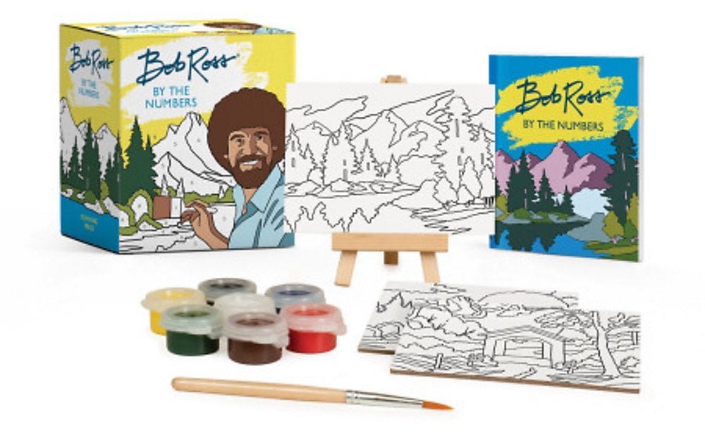 Bob Ross By the Numbers Kit