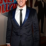 Ryan Lochte posed at London's Planet Hollywood for his 28th birthday celebrations.