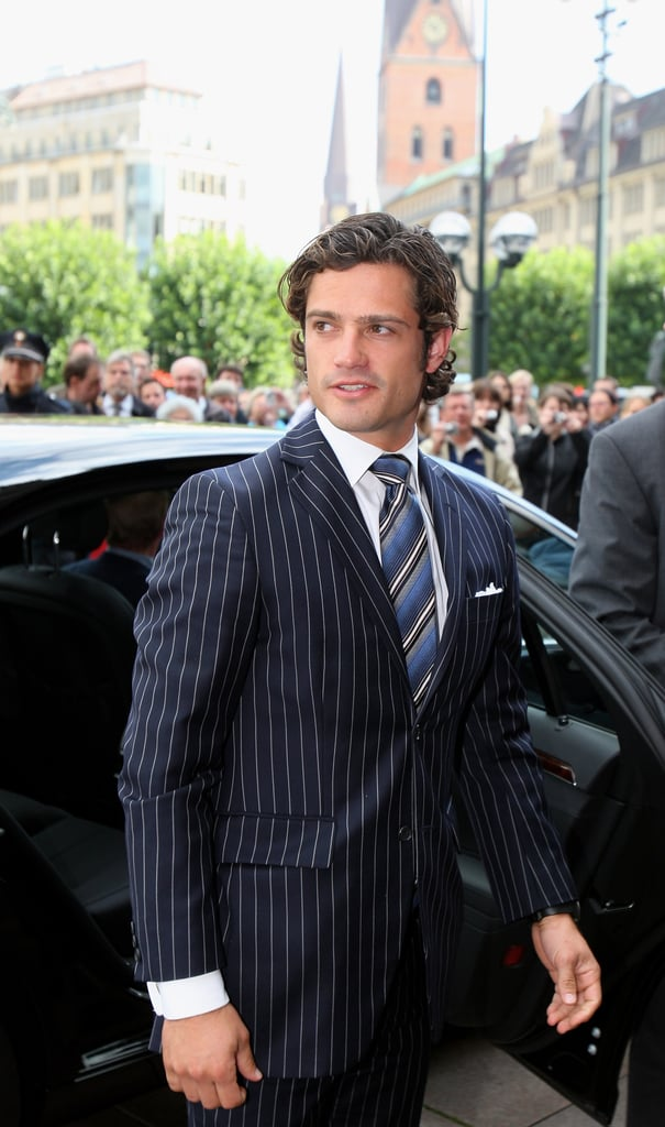 Could this be the fairest prince of them all? Prince Carl Philip of Sweden, third in line to the Scandinavian throne after his sister Victoria and niece Estelle, is both handsome and talented. Did you know that the 36-year-old royal won a design competition for the logo of Martha's Vineyard Museum after entering under a pseudonym? While Prince Carl Philip isn't as well known as his British counterparts Prince William and Prince Harry, in the looks department, he reigns. And on June 13, he and former model Sofia Hellqvist will marry in a ceremony that's sure to be as stunning as William and Kate's. Until then, take a look at some of his most dashing photographs and his best pictures with Sofia.