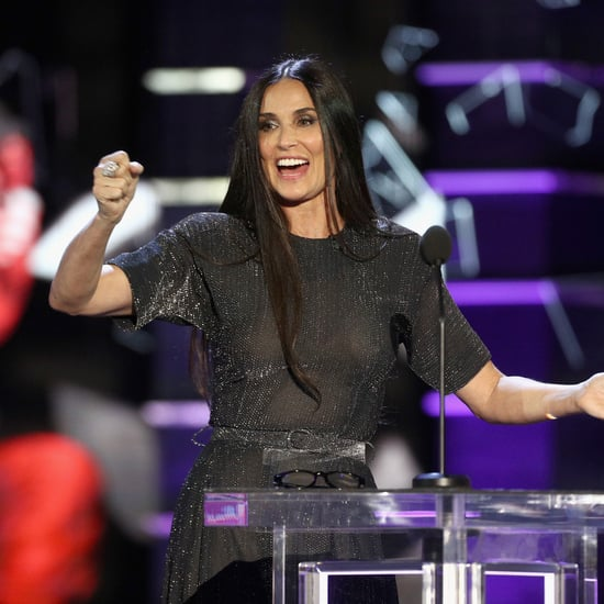Demi Moore at Bruce Willis Roast on Comedy Central Video