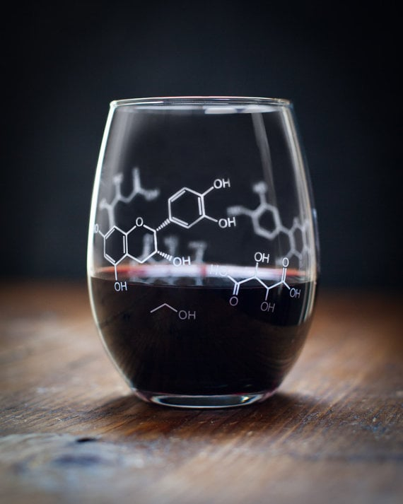 wine chemistry glass