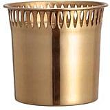 Mini Metal Plant Pot ($7)