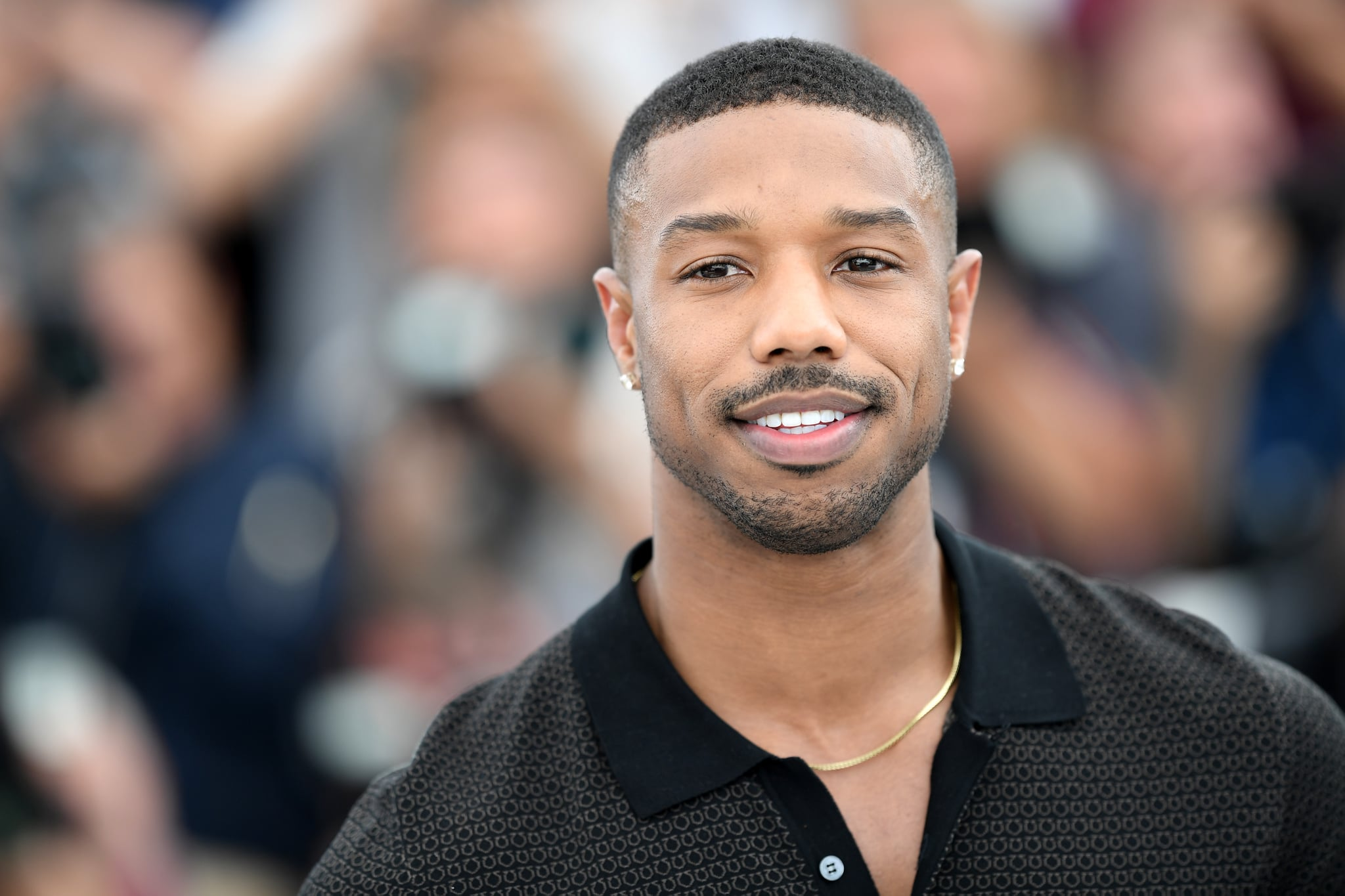 CANNES, FRANCE - MAY 12:  Actor Michael B. Jordan attends the photocall for