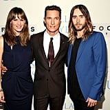 Costars Jennifer Garner, Matthew McConaughey, and Jared Leto all posed together at the Dallas Buyers Club premiere.