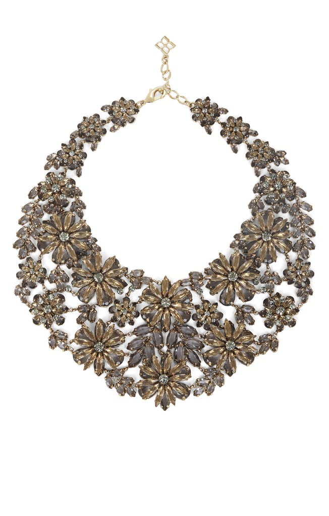 """BCBG Max Azria Floral Statement Necklace ($198) """"You'll command attention in this bold accessory."""""""