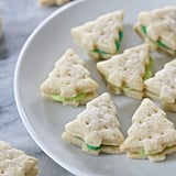 Cream Wafer Tree Cookies
