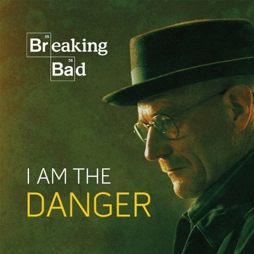Can't let go of your Breaking Bad addiction? Breaking Bad: I Am the Danger from Running Press features pictures, quotes, and stories about the TV show's most popular characters. Out Dec. 10